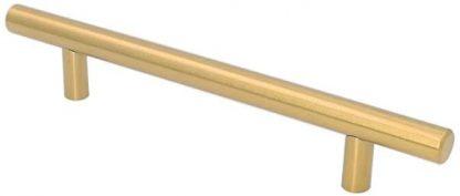 brushed gold teebar